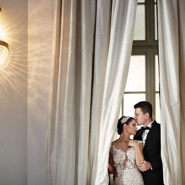 Kalina & Tomasz |  Fotograf ślubny Pałac Goetz