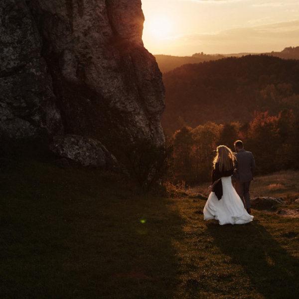Monika & Maciek | Sesja ślubna na Jurze Krakowsko-Częstochowskiej