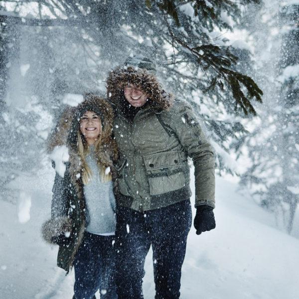 Monika & Rayan | Zimowa sesja nad Morskim Okiem